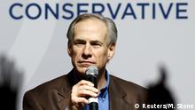 USA Greg Abbott in Dallas