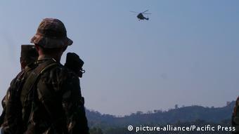 Foto de soldado filipino