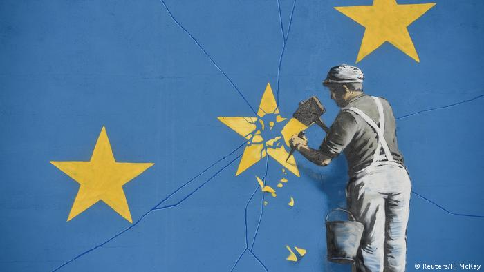 Banksy's street art in Dover