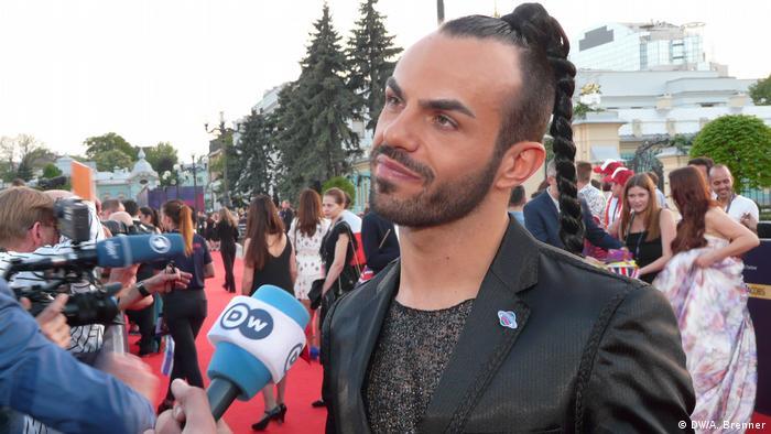 Учасник Євробачення від Чорногорії Славко Калезич
