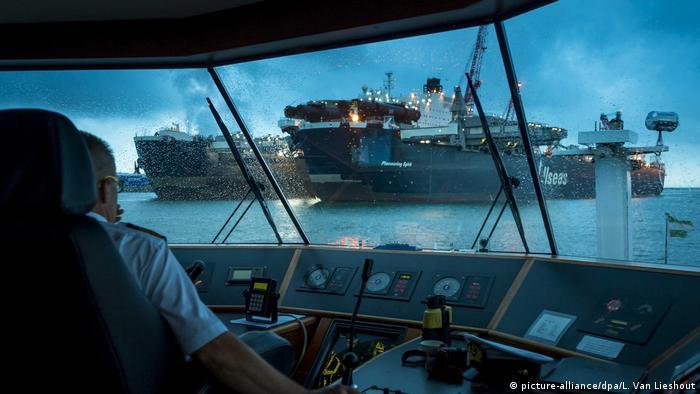 The Pioneering Spirit größtes Schiff der Welt (picture-alliance/dpa/L. Van Lieshout)