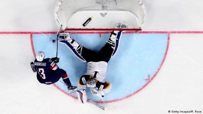 Eishockey WM USA - Germany (Getty Images/M. Rose)