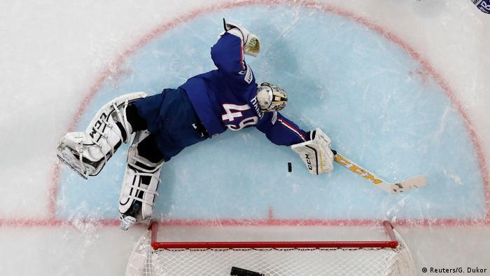 Eishockey WM Finnland - Frankreich (Reuters/G. Dukor)