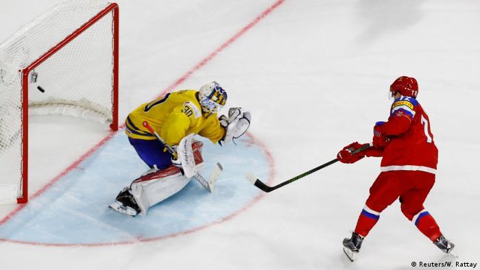 Eishockey WM Schweden - Russland (Reuters/W. Rattay)