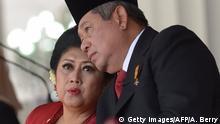 Indonesien Susilo Bambang Yudhoyono mit Ehefrau Ani Yudhoyono