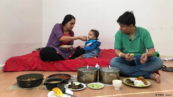 Blogger Arnab Goswami und seine Familie