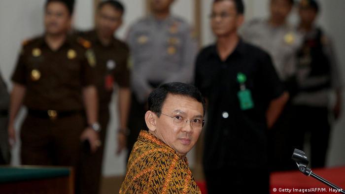 Indonsien Jakarta Gouverneur Basuki Tjahaja Purnama