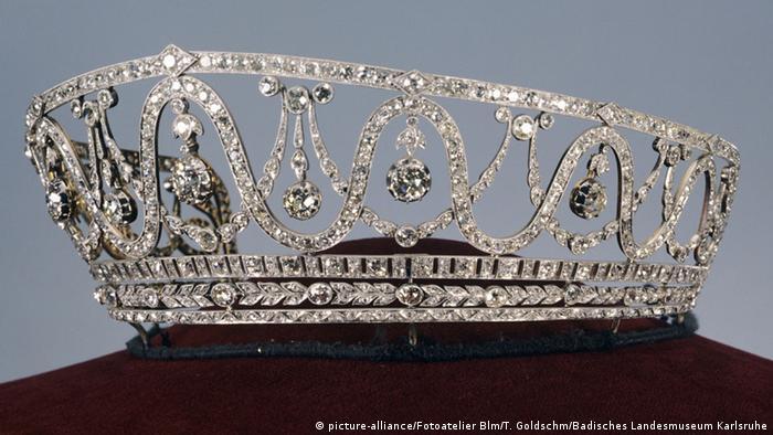 Диадема великой герцогини Бадена Хильды Люксембургской