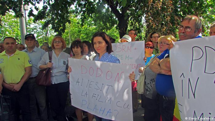 Republik Molda - Proteste - Maia Sandu