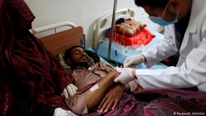 Jemen Sanaa Ausbruch der Cholera