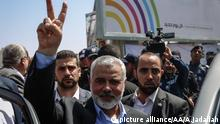 Senior political leader of Hamas Ismail Haniyeh