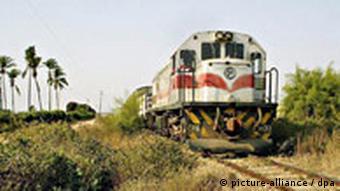 Angola Buengela Bahn