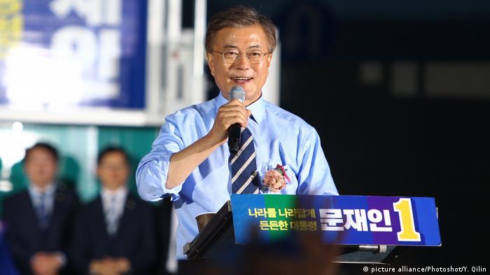 Südkorea Präsidentenwahl Moon Jae-in Kandidat