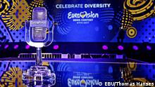 Eurovision Song Contest/1. Halbfinale Mikrophon aus Kristall