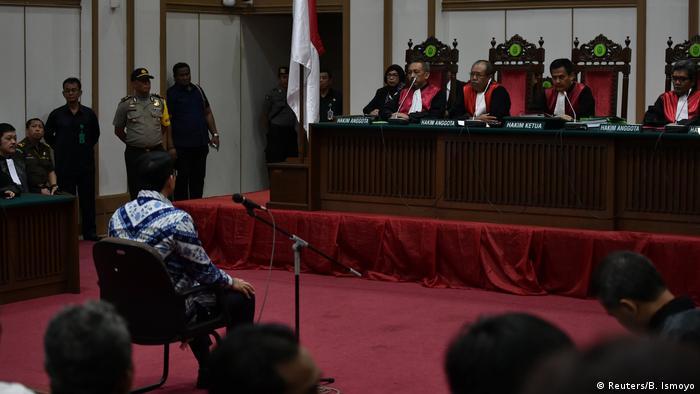 Indonesien Prozess Basuki Tjahaja Purnama (Reuters/B. Ismoyo)