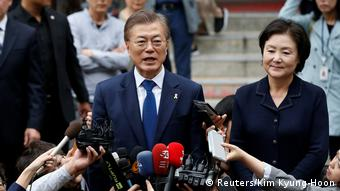 Südkorea Präsidentschaftswahlen (Reuters/Kim Kyung-Hoon)