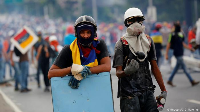 Venezuela Anti-Regierungs Proteste