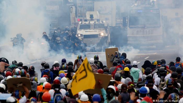 Venezuela Anti-Regierungs Proteste (Reuters/C.G. Rawlins)