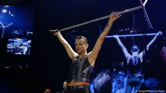 Depeche Mode's Dave Gahan (Imago/Milestone Media)