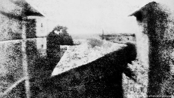 Erste Photographie der Welt