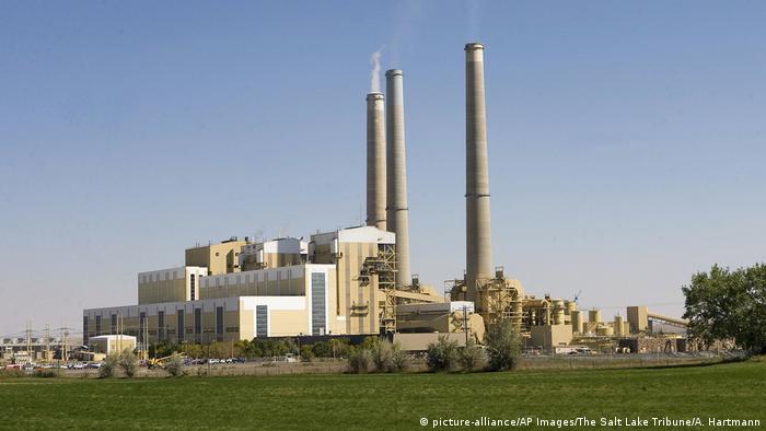 Das Kohlekraftwerk Hunter 2 in Castle Dale im US-Bundesstaat Utah