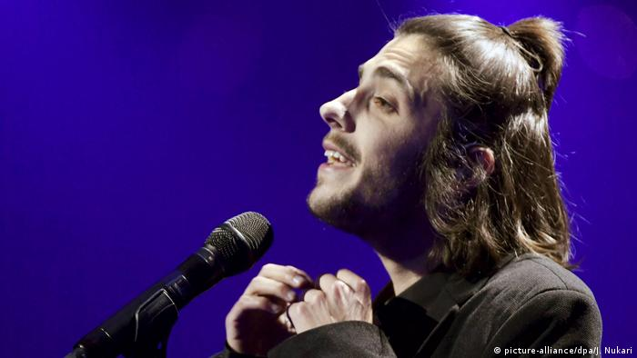 Eurovision Song Contest 2017 Salvador Sobral (picture-alliance/dpa/J. Nukari)