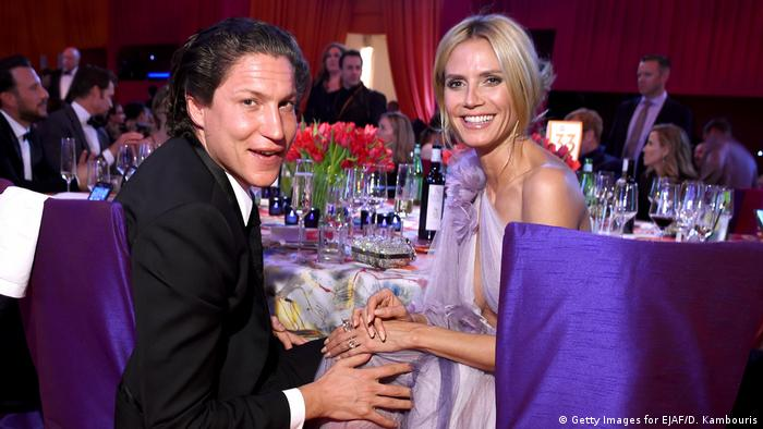 Heidi Klum and Vito Schnabel (Getty Images for EJAF/D. Kambouris)