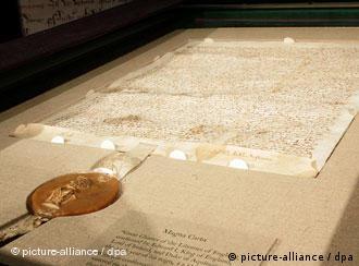 Die Magna Carta (dpa/Monika Graff/Landov)