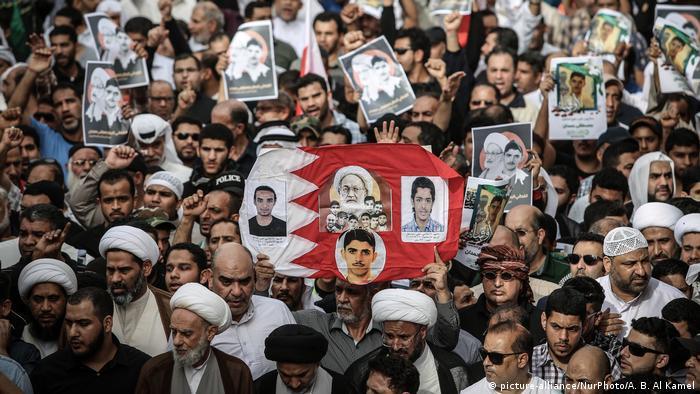 Bahrain Proteste nach Tod von Mustafa Hamdan (picture-alliance/NurPhoto/A. B. Al Kamel)