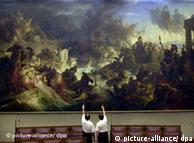 A luta em  quadro de Wilhelm von Kaulbach (1804-1878)
