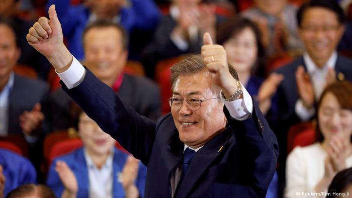 Südkorea Präsidentschaftswahlen Moon Jae-in (Reuters/Kim Hong-Ji)