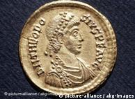 Memoria conmemorativa del emperador Theodosius.