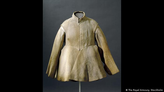 beige elk hide coat (The Royal Armoury, Stockholm)