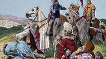 Разрушение Иерусалима крестоносцами (1099)