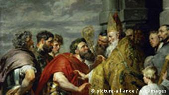 Rom Antike Ambrosius und Theodosius