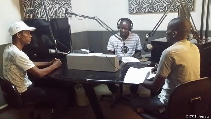 Mosambik Community-Radio GESOM (DW/B. Jequete)