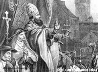El Papa Urbano II llamó a realizar las cruzadas.