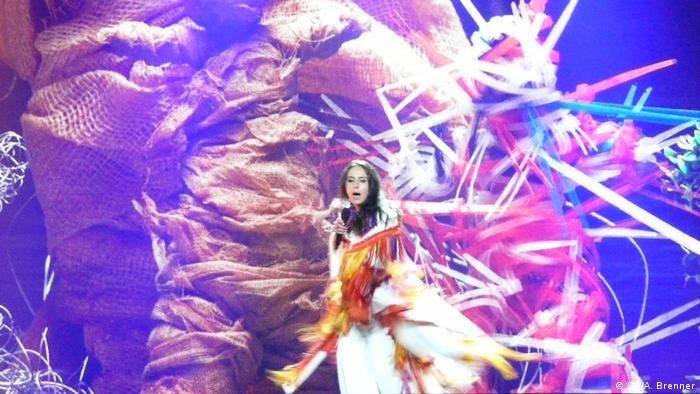 Джамала на сцені Євробачення-2017 у Києві