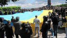 Ukraine Friedensmarsch zum 9 Mai