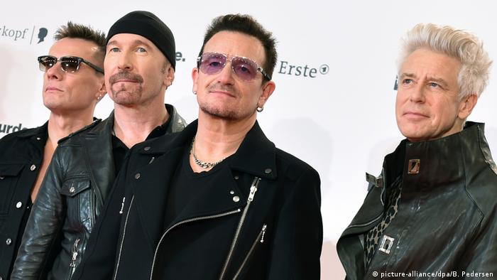 Band U2 (picture-alliance/dpa/B. Pedersen)