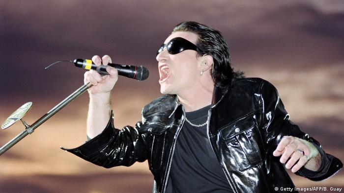 Bono, U2-Sänger (Foto: Getty Images/AFP/B. Guay)