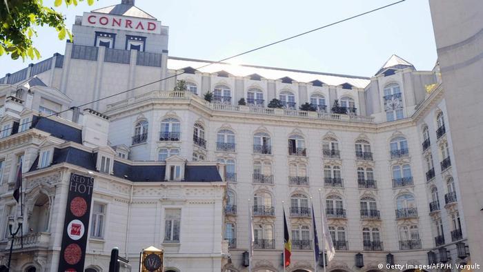 Belgien Das Hotel Conrad