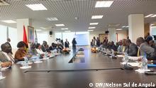 Angola Treffen Wahlkomission und Politik