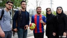 Iran Double von Lionel Messi in Teheran