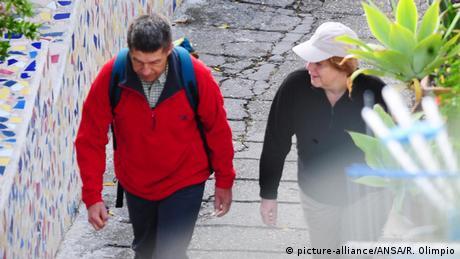 Bildergalerie Homestories Angela Merkel und Joachim Sauer