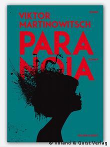 Обложка романа Паранойя на немецком языке