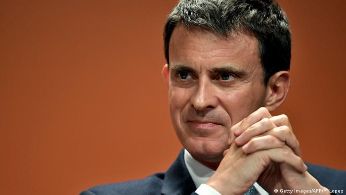Frankreich Manuel Valls, ehemaliger Premierminister (Getty Images/AFP/P. Lopez)