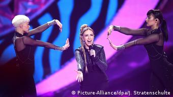 Eurovision Song Contest 2017 in Kiew | Artsvik Armenien (Picture-Alliance/dpa/J. Stratenschulte)