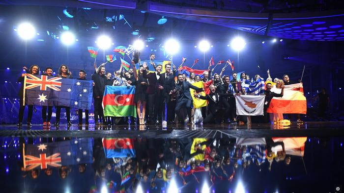 Eurovision Song Contest 2017 in Kiew | Die zehn besten Nationen ( Picture-Alliance/dpa/J. Stratenschulte)