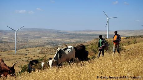 Äthiopien Windpark (Getty Images/AFP/J. Vaughn)